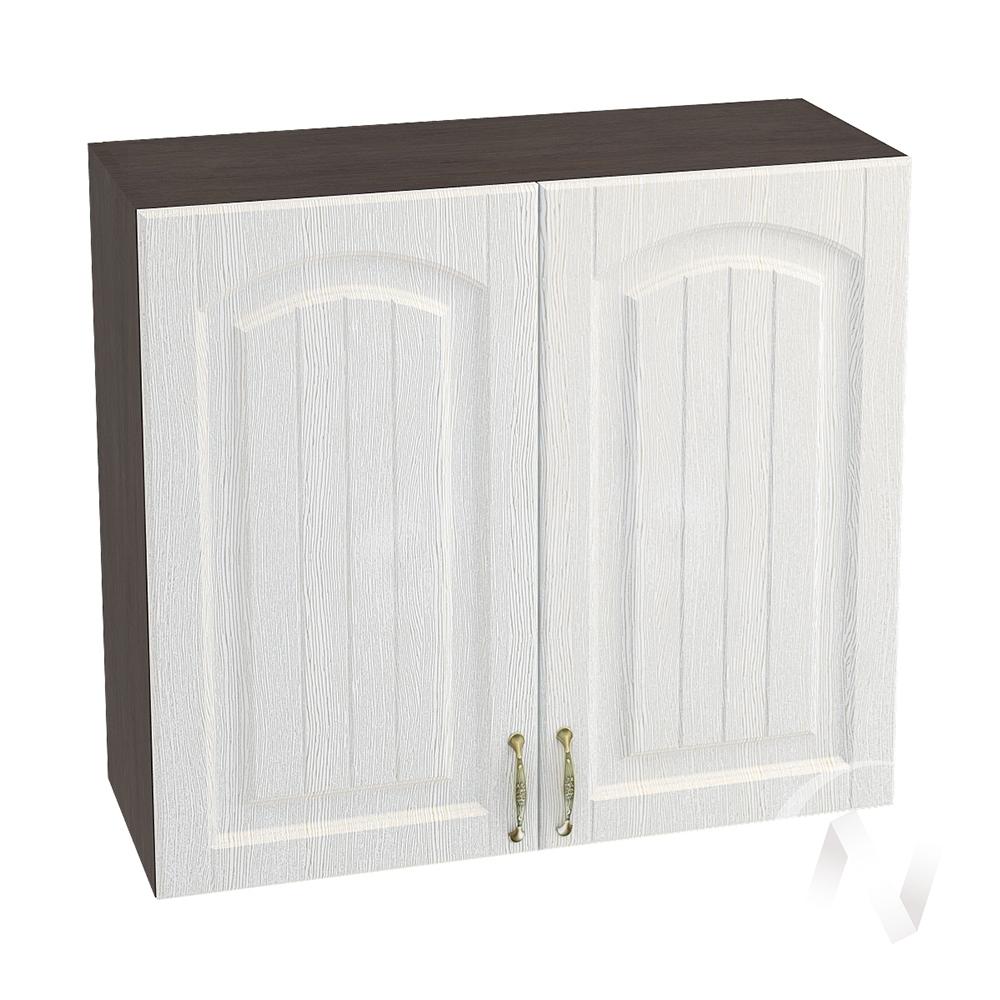 """Кухня """"Верона"""": Шкаф верхний 800, ШВ 800 (ясень золотистый/корпус венге)"""