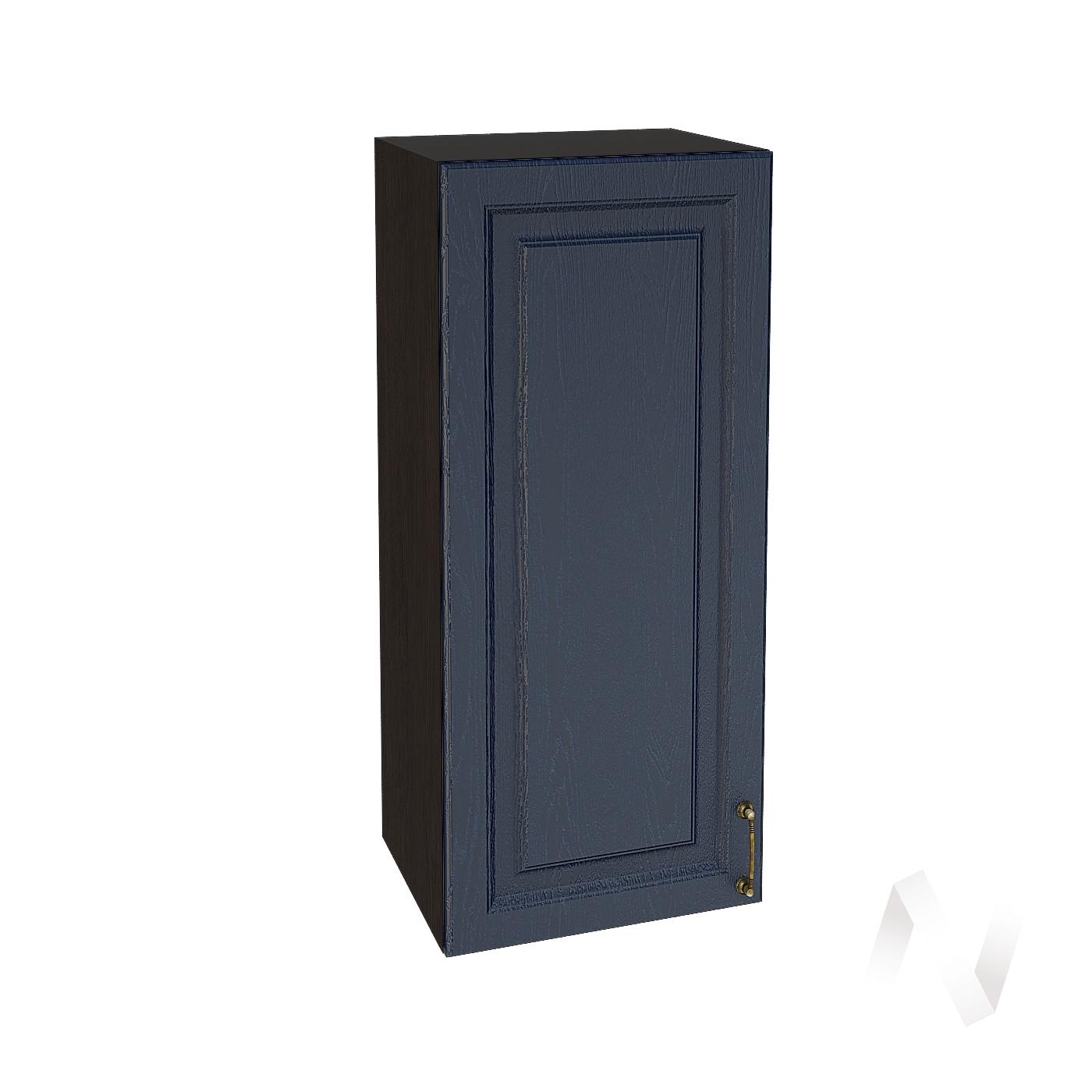 """Кухня """"Ницца"""": Шкаф верхний 409, ШВ 409 (Дуб чернильный/корпус венге)"""