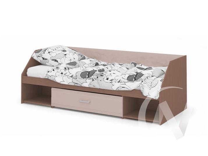 Кровать Симба (шимо темный/кофе с молоком)  в Томске — интернет магазин МИРА-мебель