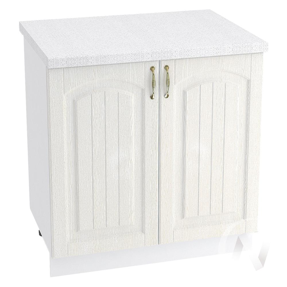 "Кухня ""Верона"": Шкаф нижний 800, ШН 800 (ясень золотистый/корпус белый)"