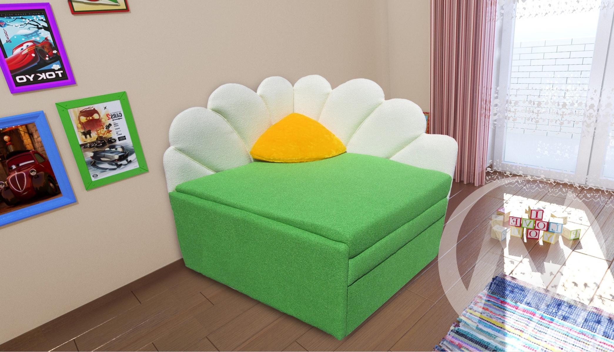 Ника диван детский левый недорого в Томске — интернет-магазин авторской мебели Экостиль