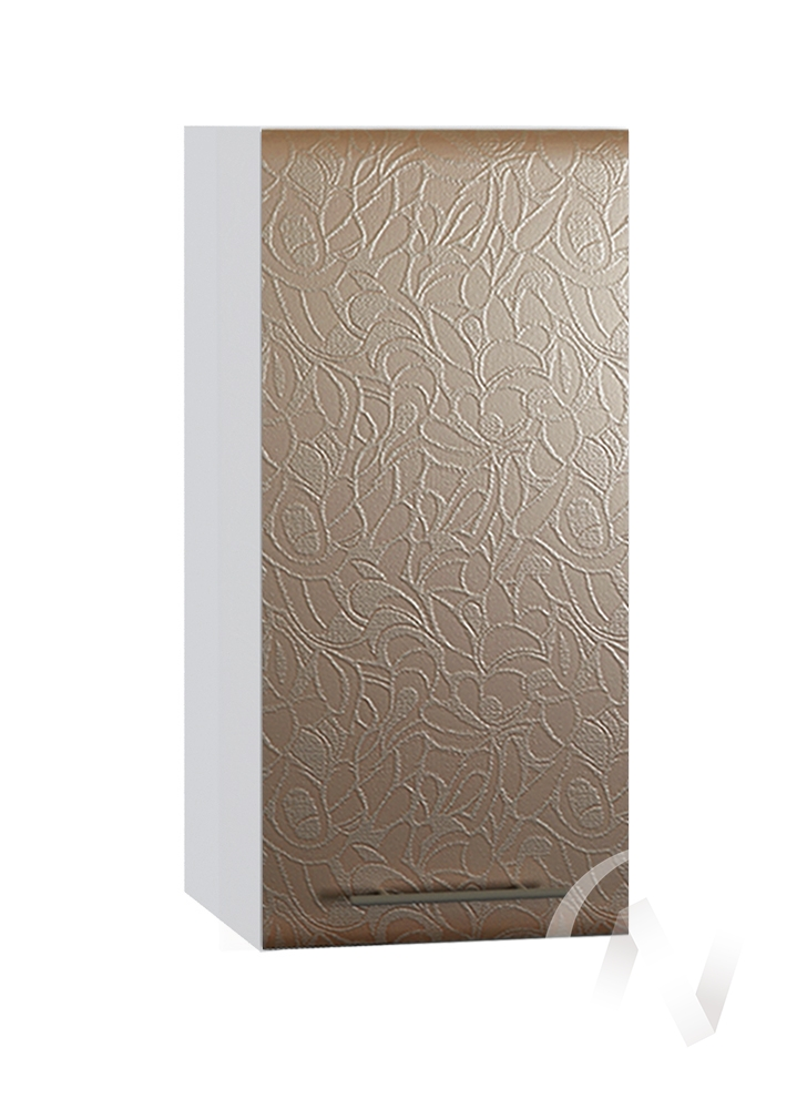 "Кухня ""Люкс"": Шкаф верхний 300, ШВ 300 (Гобелен шампань/корпус белый)"