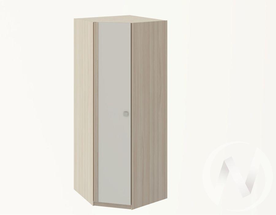 Глэдис М21 Угловой шкаф (ясень шимо светлый/белый) в Томске — авторская мебель Экостиль