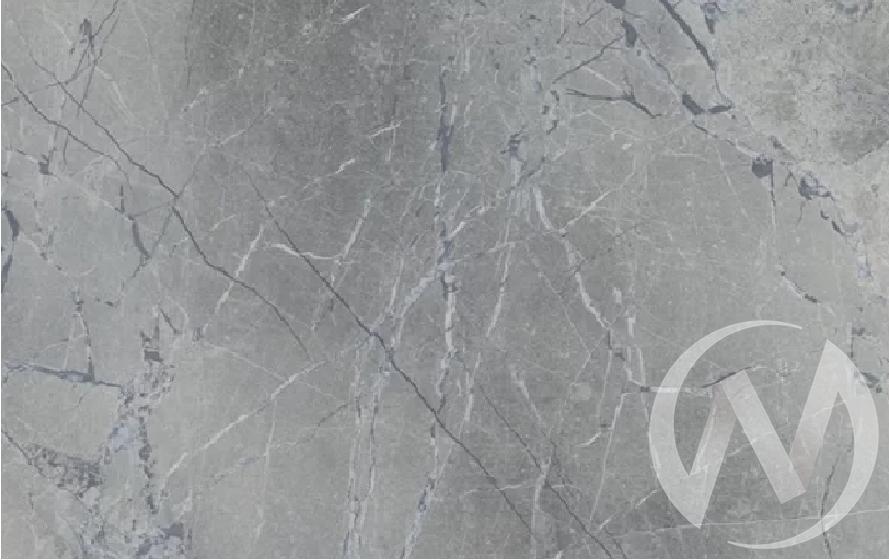 Стол раздвижной Bergen 2 (венге/мрамор марквина синий/металлокаркас черный) в Томске — авторская мебель Экостиль