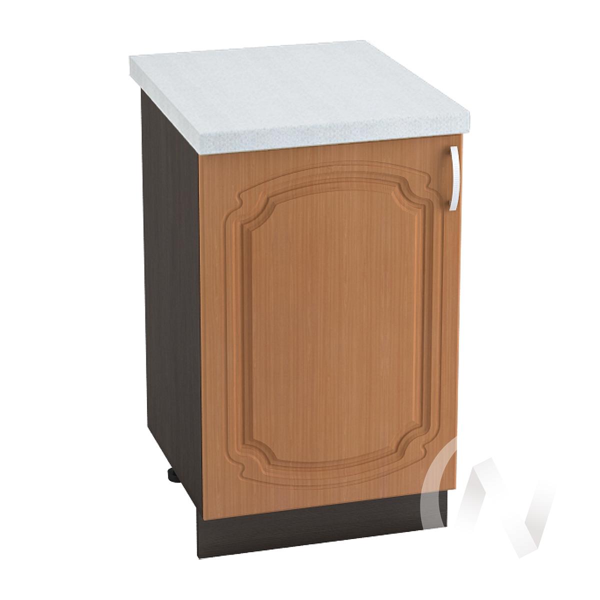"Кухня ""Настя"": Шкаф нижний 500, ШН 500 (Орех миланский/корпус венге)"