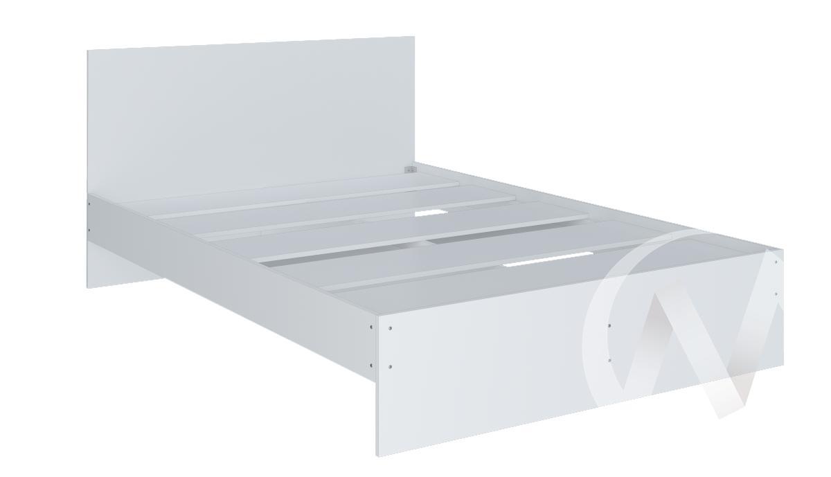 Кровать 1,4 Осло (белый)