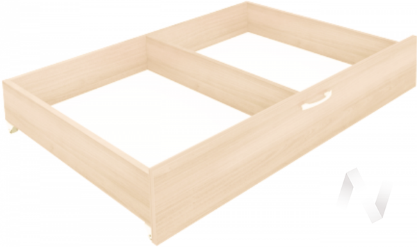 Комплект ящиков для кровати Веста (дуб млечный)