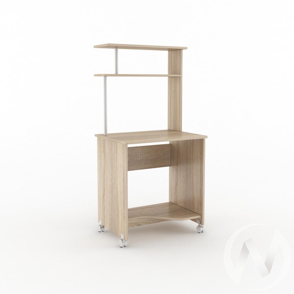 Компьютерный стол КС 700 (дуб сонома)  в Томске — интернет магазин МИРА-мебель