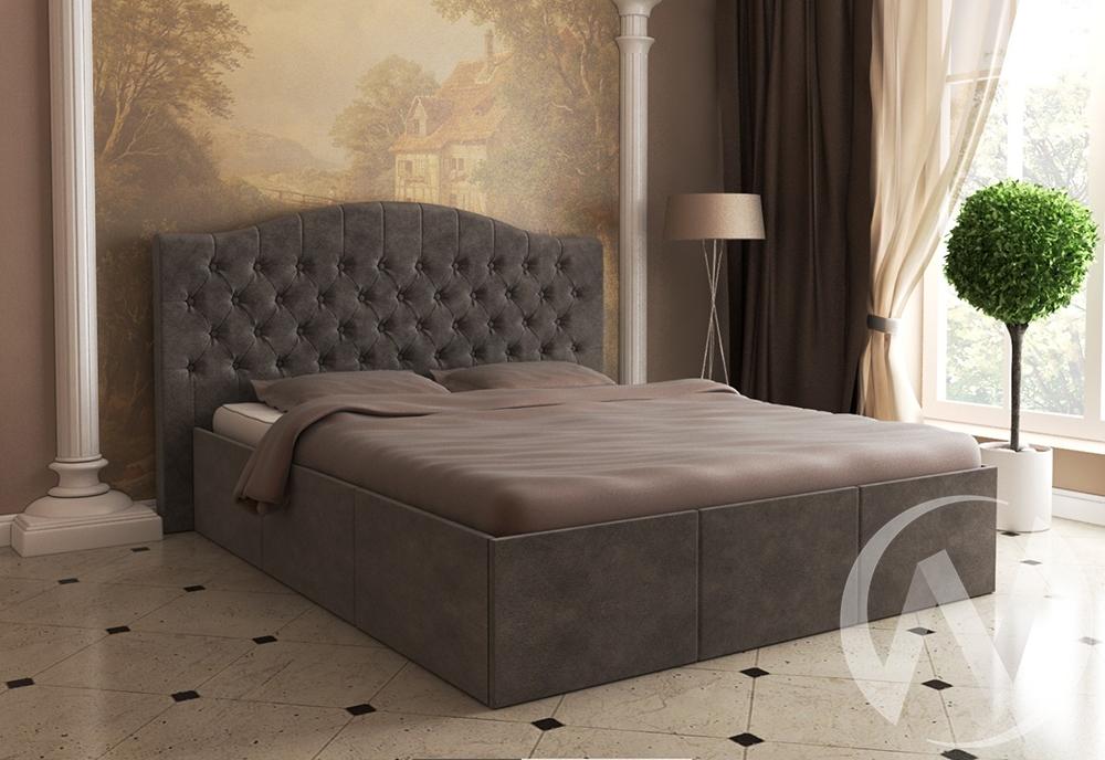 Кровать Валенсия 1,6 с подъемным механизмом (коричневая) недорого в Томске — интернет-магазин авторской мебели Экостиль