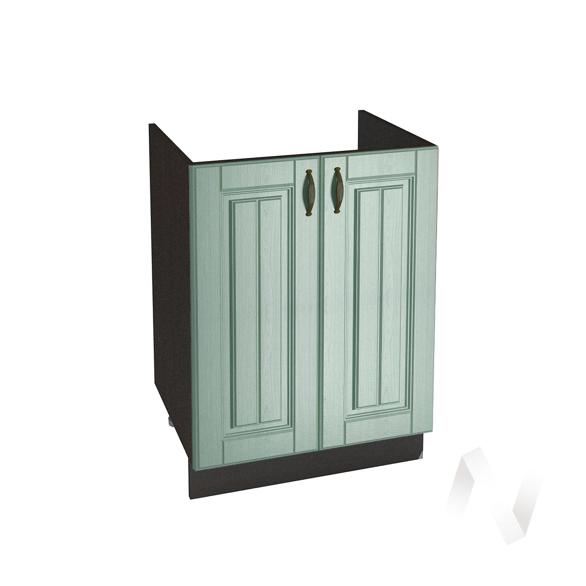 """Кухня """"Прованс"""": Шкаф нижний под мойку 600, ШНМ 600 (корпус венге)"""