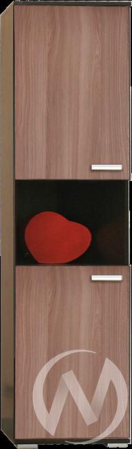 МС Статус М-6 Пенал открытый (венге-ясень шимо темный)  в Томске — интернет магазин МИРА-мебель