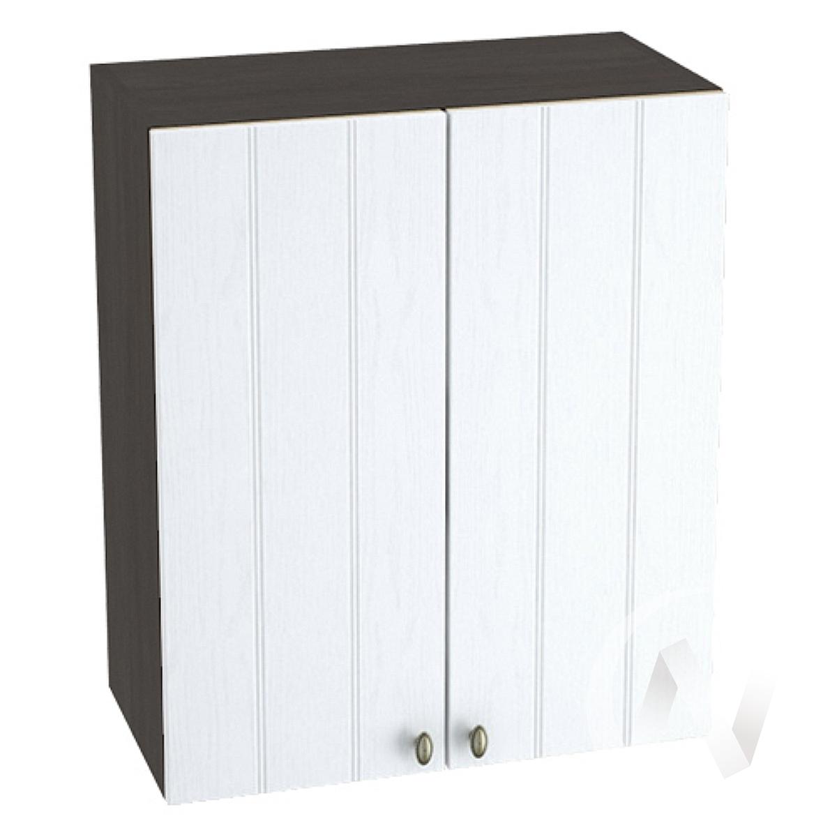 "Кухня ""Прованс"": Шкаф верхний 600, ШВ 600 (белое дерево/корпус венге)"