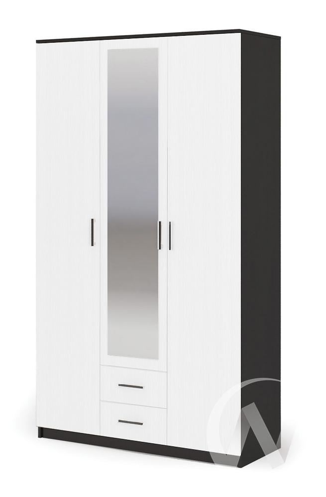 Шкаф 3-х ств ШК 601М ТРИО Спальня Гармония (венге/анкор)
