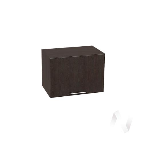 """Кухня """"Валерия-М"""": Шкаф верхний горизонтальный 500, ШВГ 500 (венге/корпус венге)"""