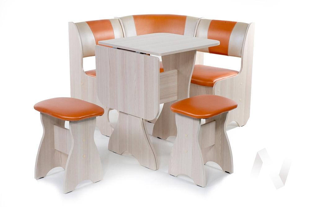 """Набор мебели для кухни """"Тюльпан"""" мини ясень С-120/С-101"""
