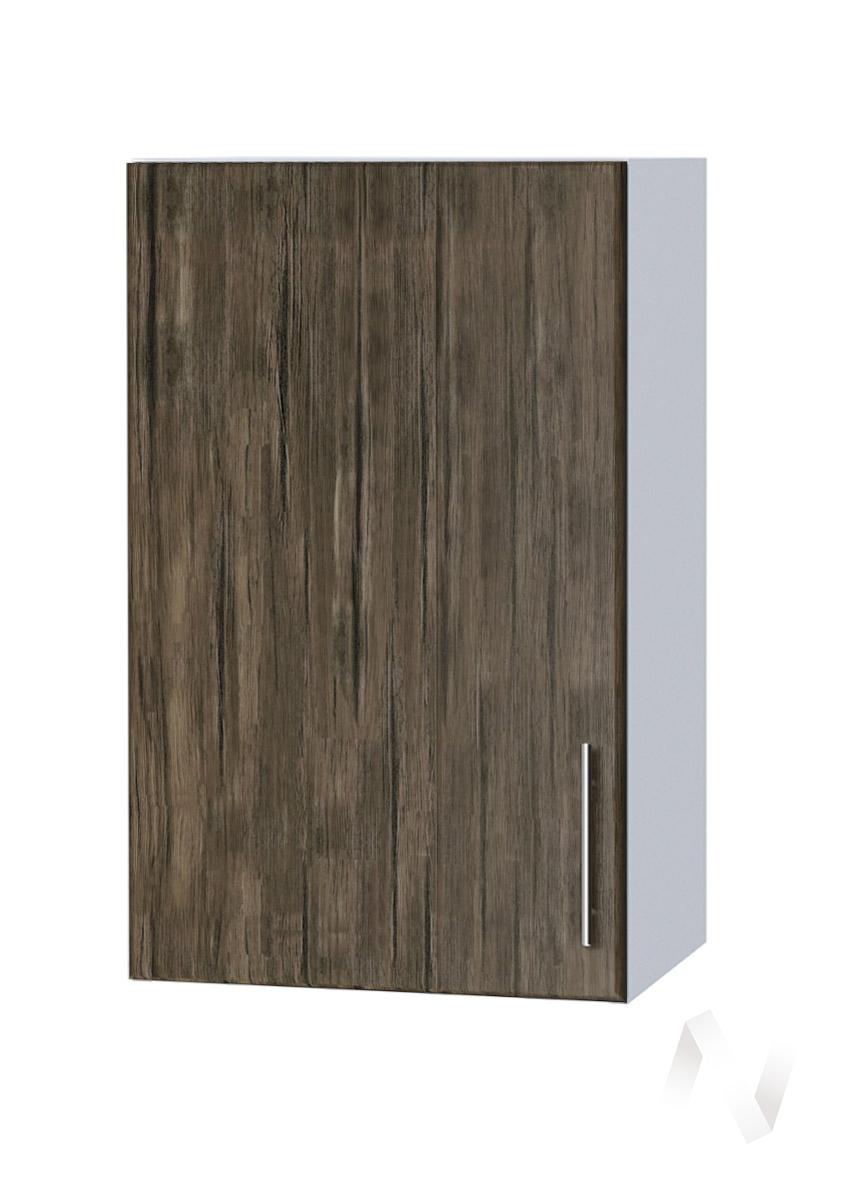 "Кухня ""Норден"": Шкаф верхний 400, ШВ 400 (старое дерево/корпус белый)"