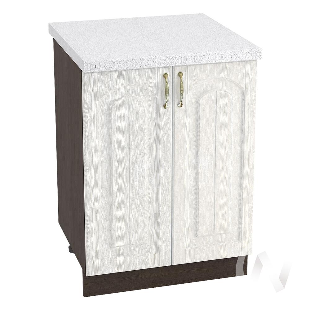 """Кухня """"Верона"""": Шкаф нижний 600, ШН 600 (ясень золотистый/корпус венге)"""