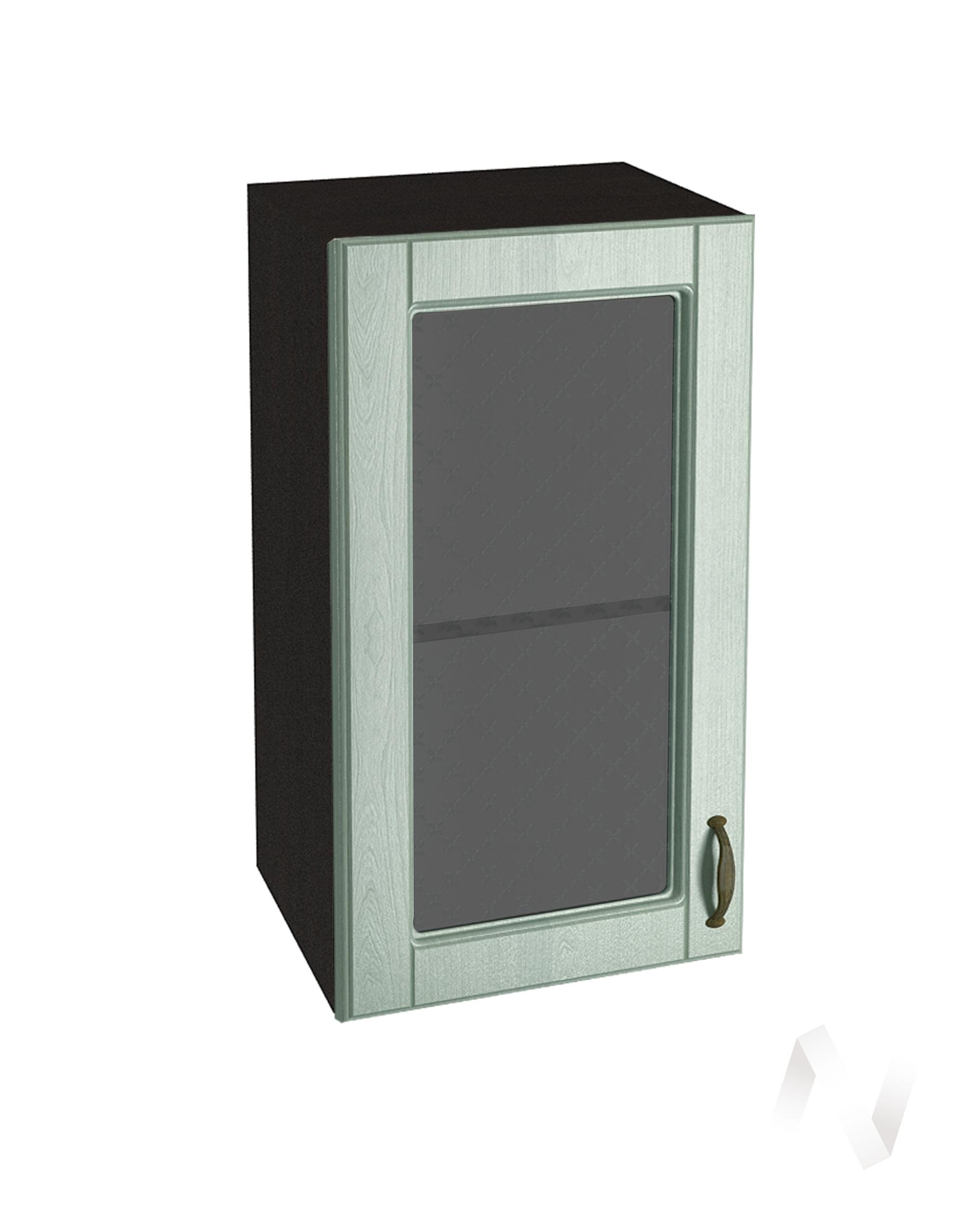 "Кухня ""Прованс"": Шкаф верхний со стеклом 400, ШВС 400 (корпус венге)"