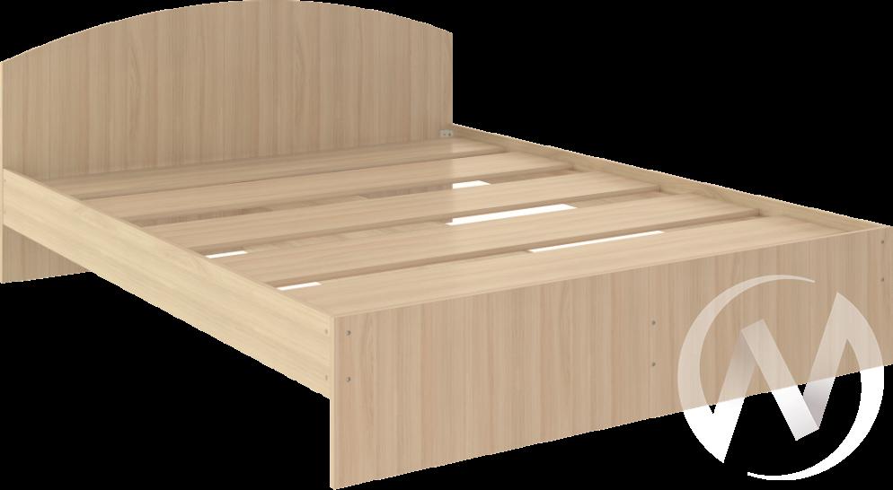 Кровать Веста 1,6х2,0 (шимо светлый)  в Томске — интернет магазин МИРА-мебель