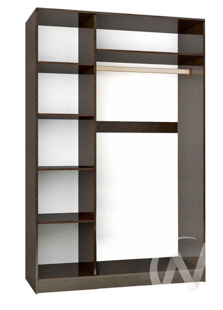 """Шкаф-купе """"Комфорт 2"""" 1,2 (венге/венге)  в Томске — интернет магазин МИРА-мебель"""