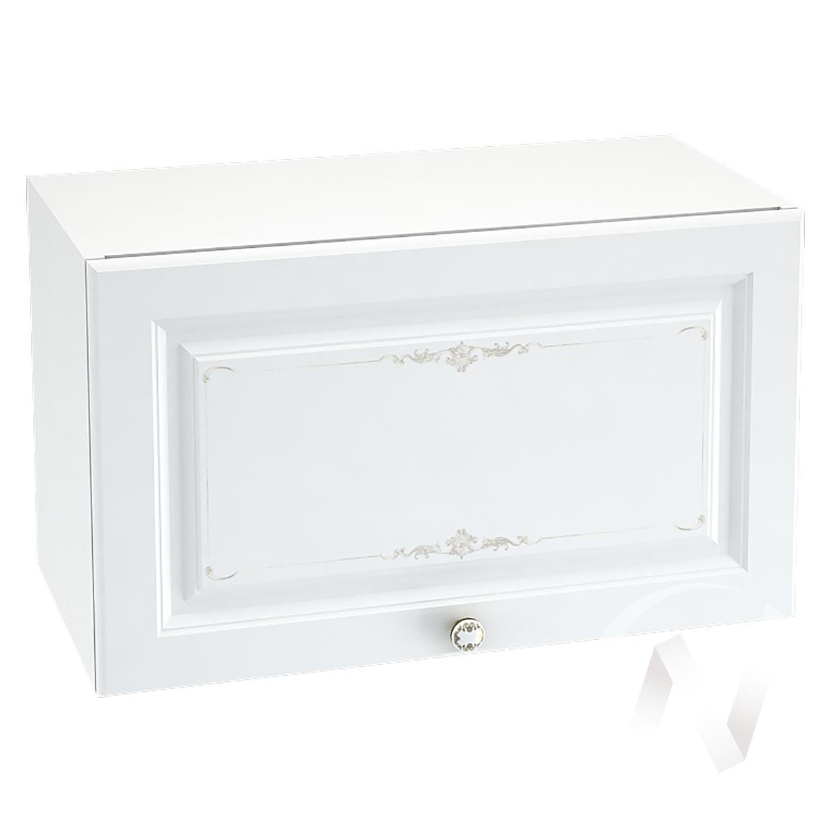 """Кухня """"Шарлиз"""": Шкаф верхний горизонтальный 600, ШВГ 600 (корпус белый)"""