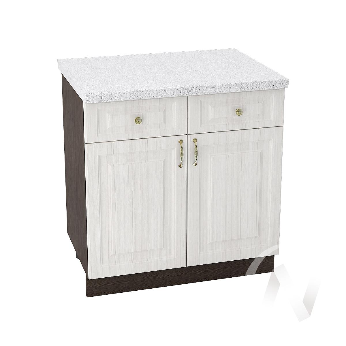 """Кухня """"Виктория"""": Шкаф нижний с ящиками 800, ШН1Я 800 (корпус венге)"""