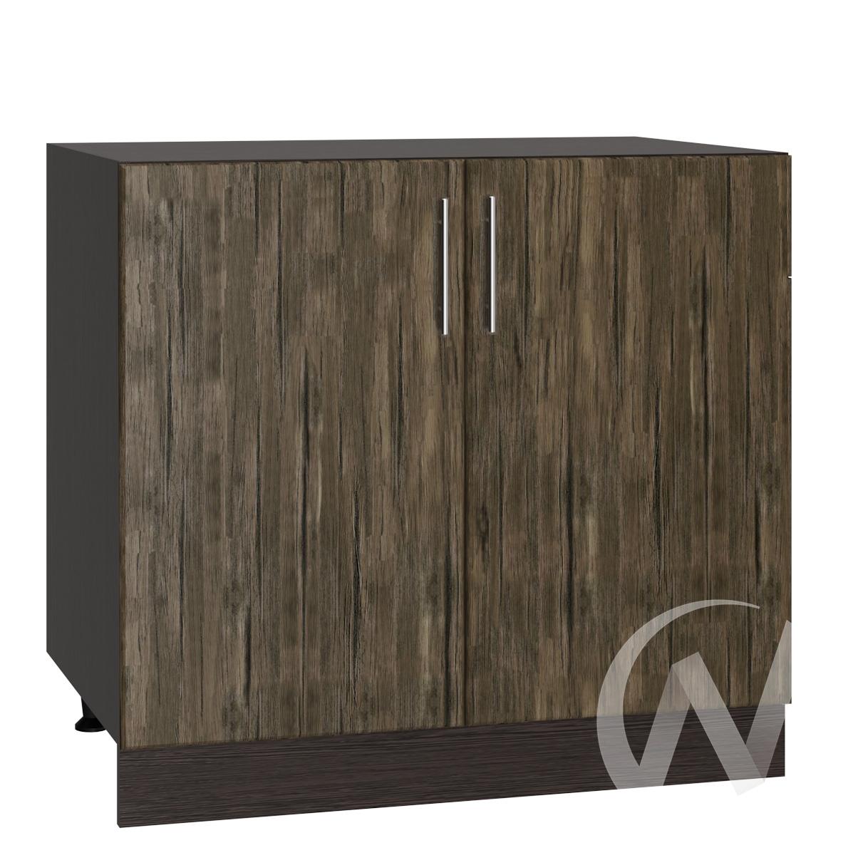 "Кухня ""Норден"": Шкаф нижний 800, ШН 800 (старое дерево/корпус венге)"