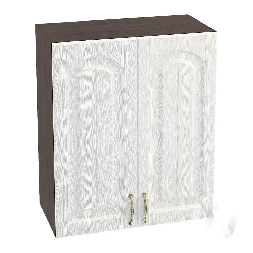 """Кухня """"Верона"""": Шкаф верхний 600, ШВ 600 (ясень золотистый/корпус венге)"""