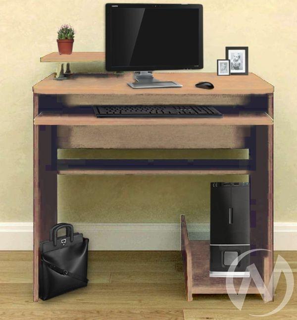 Компьютерный стол СК-8 (выбеленный дуб)
