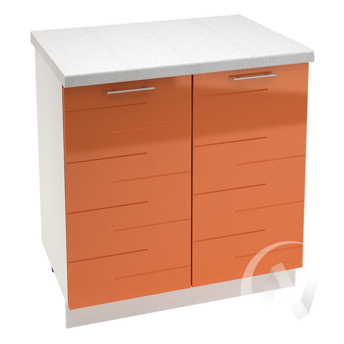"""Кухня """"Техно"""": Шкаф нижний 800, ШН 800 (корпус белый)"""