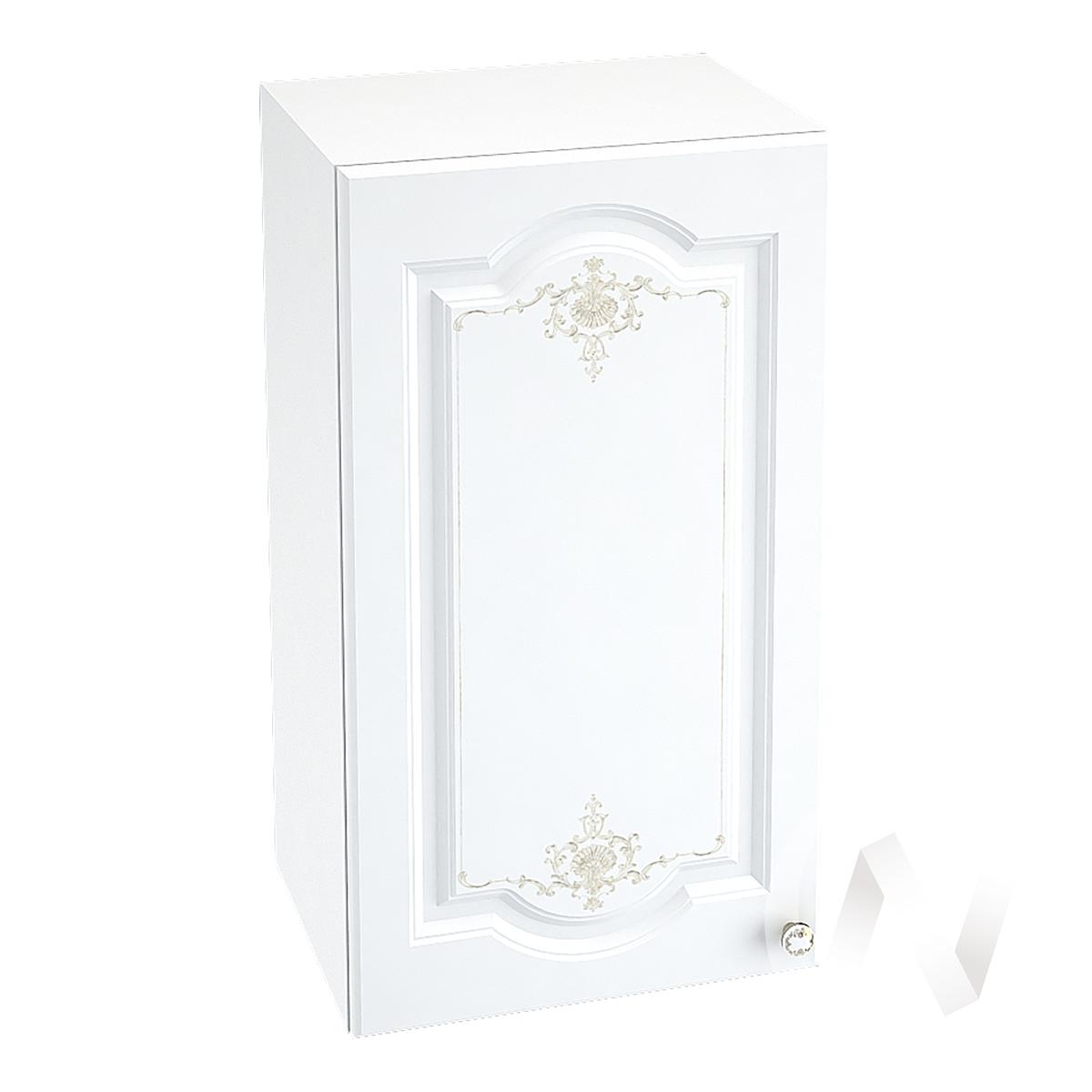 """Кухня """"Шарлиз"""": Шкаф верхний 400, ШВ 400 (корпус белый) в Новосибирске в интернет-магазине мебели kuhnya54.ru"""