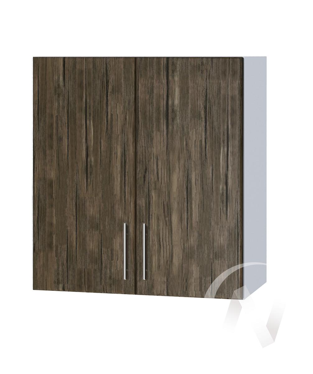 "Кухня ""Норден"": Шкаф верхний 600, ШВ 600 (старое дерево/корпус белый)"