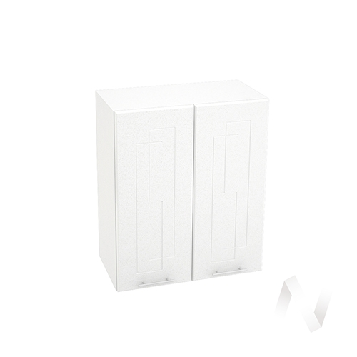 "Кухня ""Вега"": Шкаф верхний 600, ШВ 600 (белый металлик/корпус белый)"