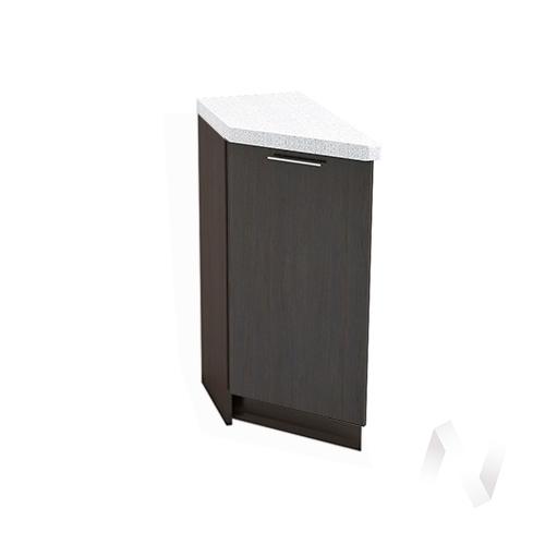 """Кухня """"Валерия-М"""": Шкаф нижний торцевой 300, ШНТ 300 (венге/корпус венге)"""