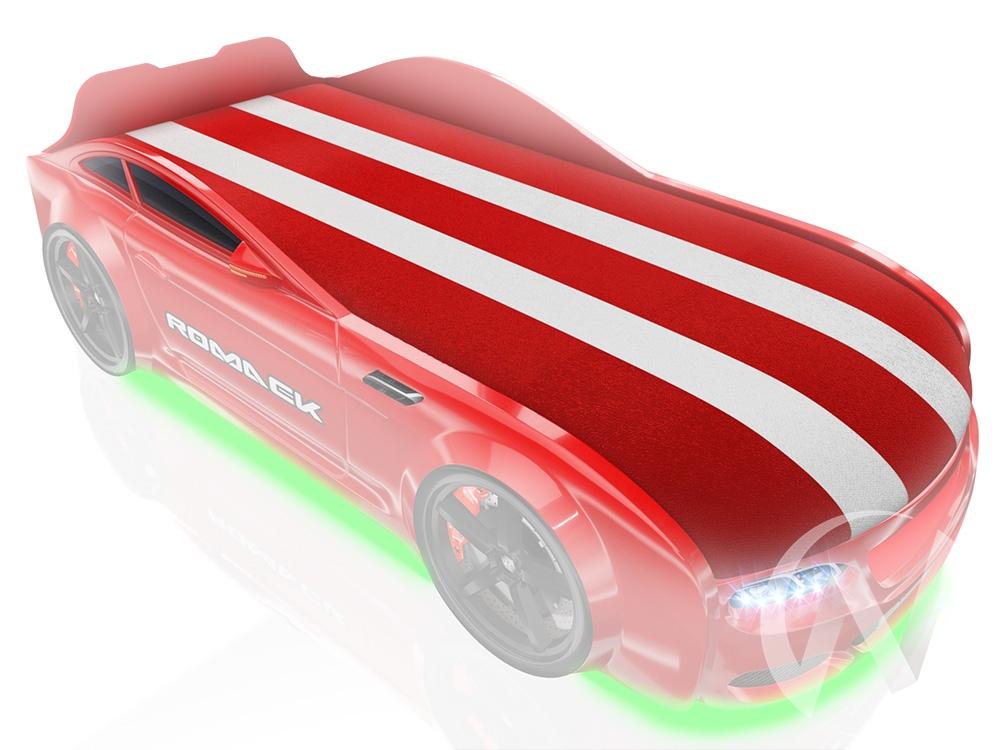 Фирменная накидка в цвет кроватки (красный)  в Томске — интернет магазин МИРА-мебель
