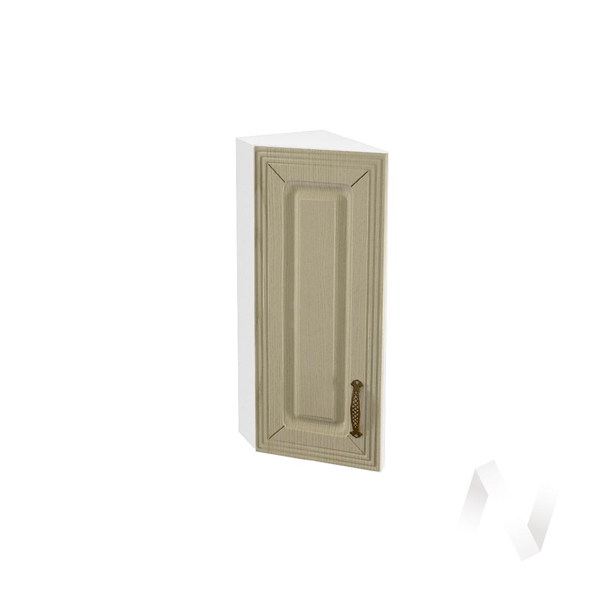 """Кухня """"Изабель"""": Шкаф верхний торцевой 224, ШВТ 224 (корпус белый)"""
