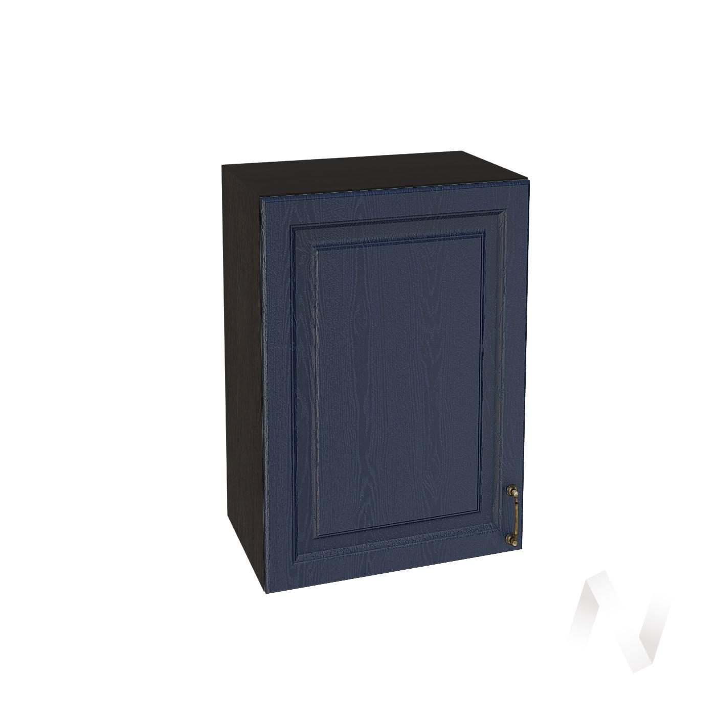 """Кухня """"Ницца"""": Шкаф верхний 500, ШВ 500 (Дуб чернильный/корпус венге)"""