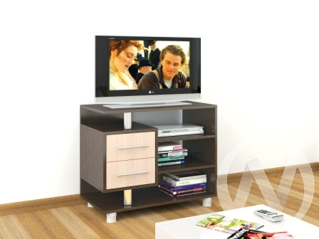 Тумба TV 0112я (венге/дуб молочный)  в Томске — интернет магазин МИРА-мебель