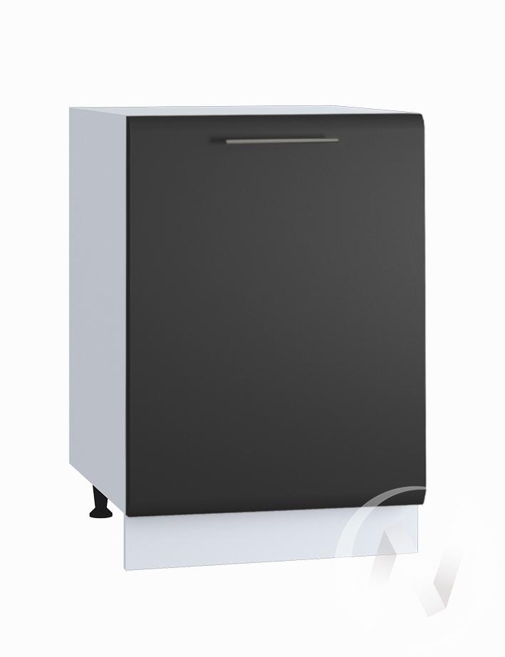 "Кухня ""Люкс"": Шкаф нижний 500, ШН 500 (Шелк венге/корпус белый)"