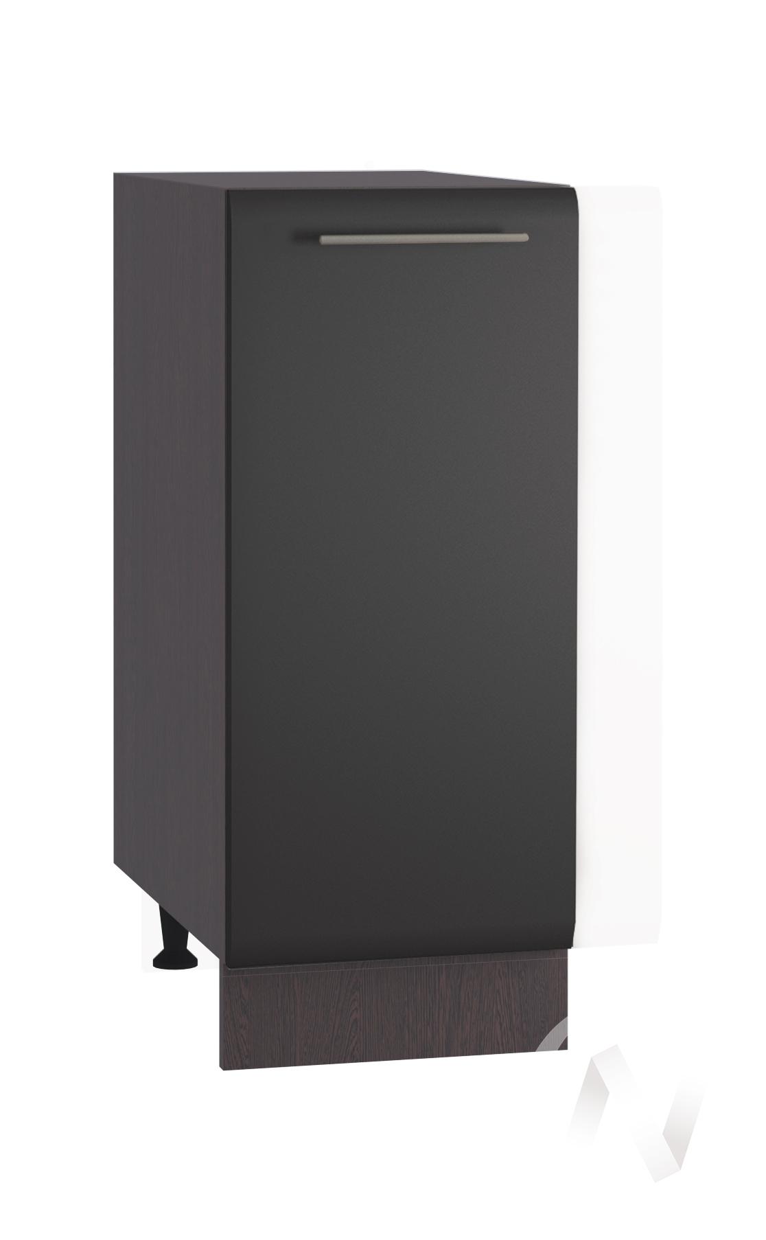 "Кухня ""Люкс"": Шкаф нижний 300, ШН 300 (Шелк венге/корпус венге)"