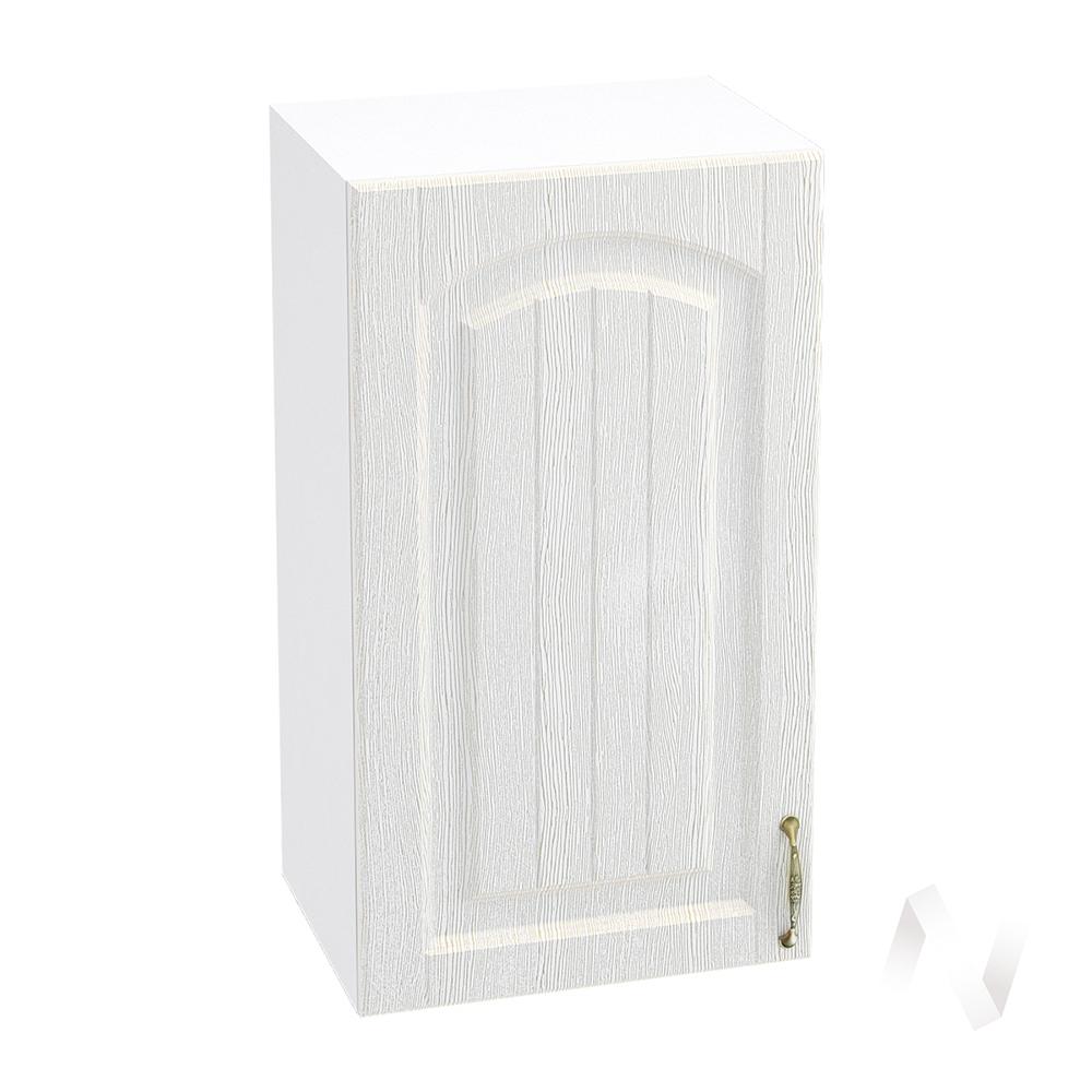 """Кухня """"Верона"""": Шкаф верхний 400 левый, ШВ 400 (ясень золотистый/корпус белый)"""