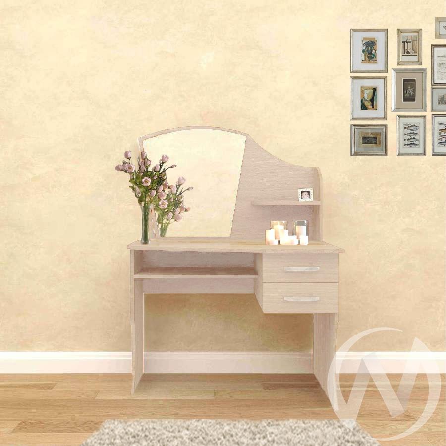 """Туалетный стол """"Волна"""" (дуб выбеленный) недорого в Томске — интернет-магазин авторской мебели Экостиль"""