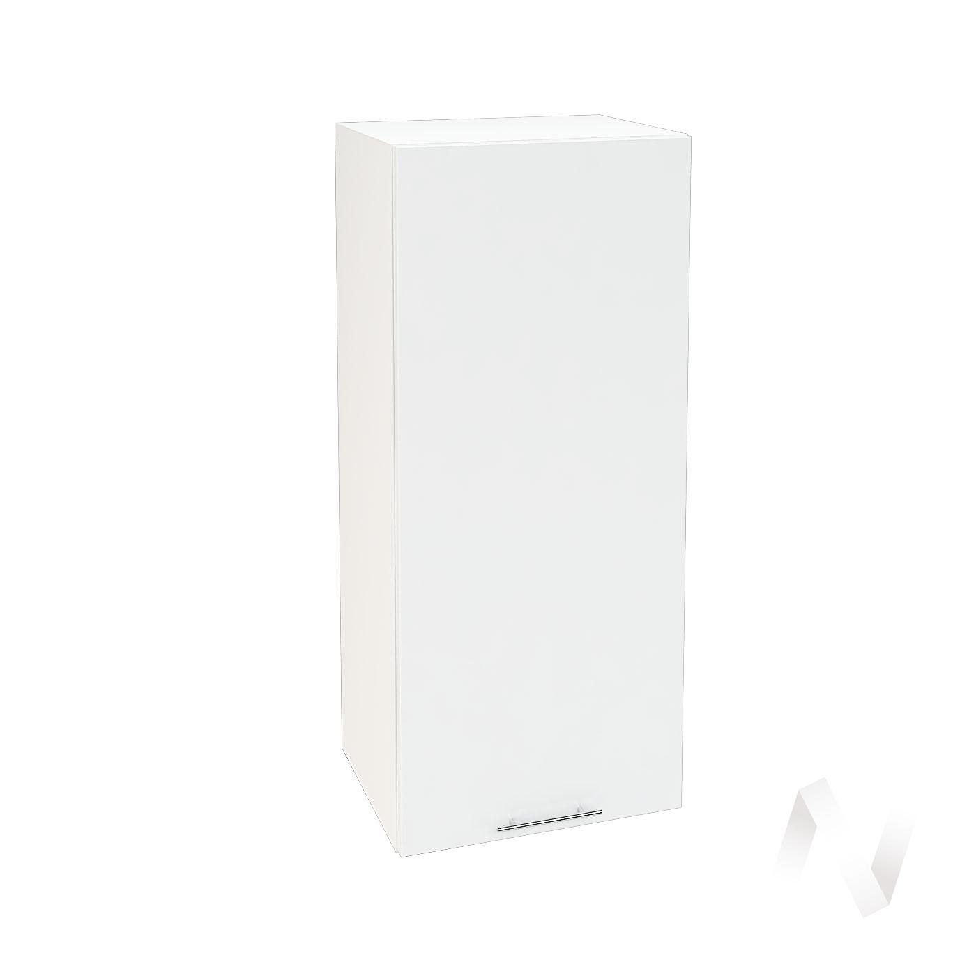 """Кухня """"Валерия-М"""": Шкаф верхний 409, ШВ 409 (белый гленец/корпус белый)"""