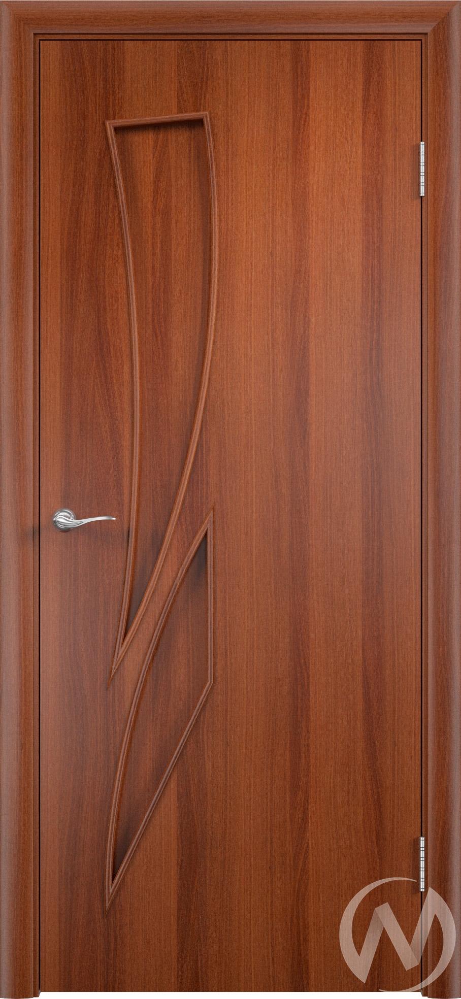 """Дверь ламинированная Тип """"Стрелиция"""", 60, глухая, итальянский орех"""