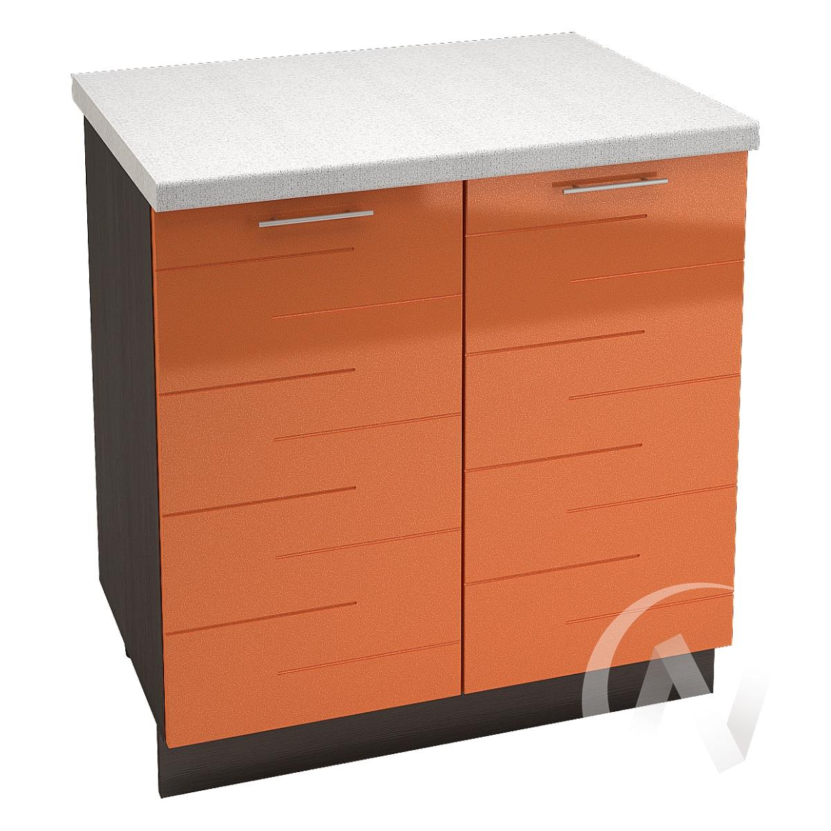 """Купить кухня """"техно"""": шкаф нижний 800, шн 800 (корпус венге) в Новосибирске в интернет-магазине Мебель плюс Техника"""