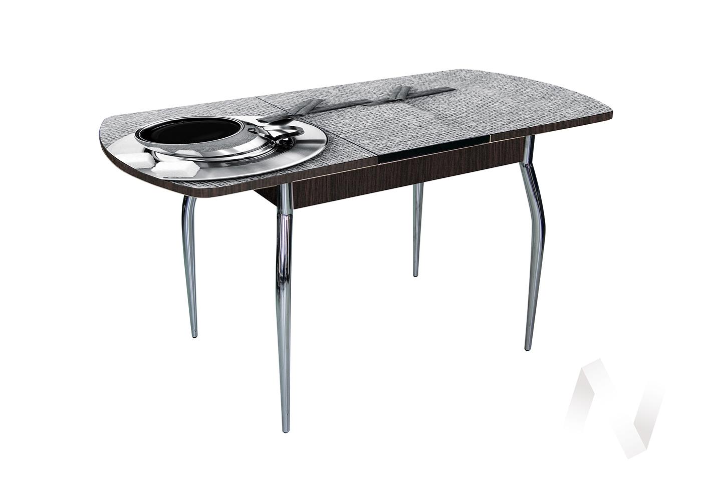 Стол раздвижной Asti-Foto2 (венге/стекло №16)  в Томске — интернет магазин МИРА-мебель