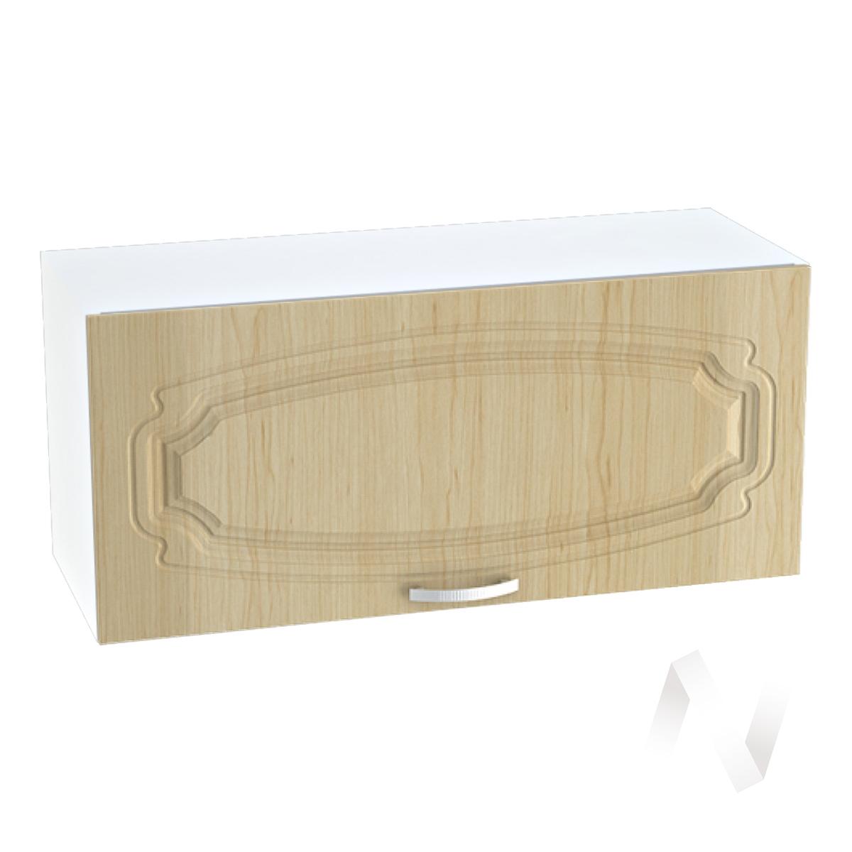 """Кухня """"Настя"""": Шкаф верхний горизонтальный 800, ШВГ 800 (Береза/корпус белый)"""