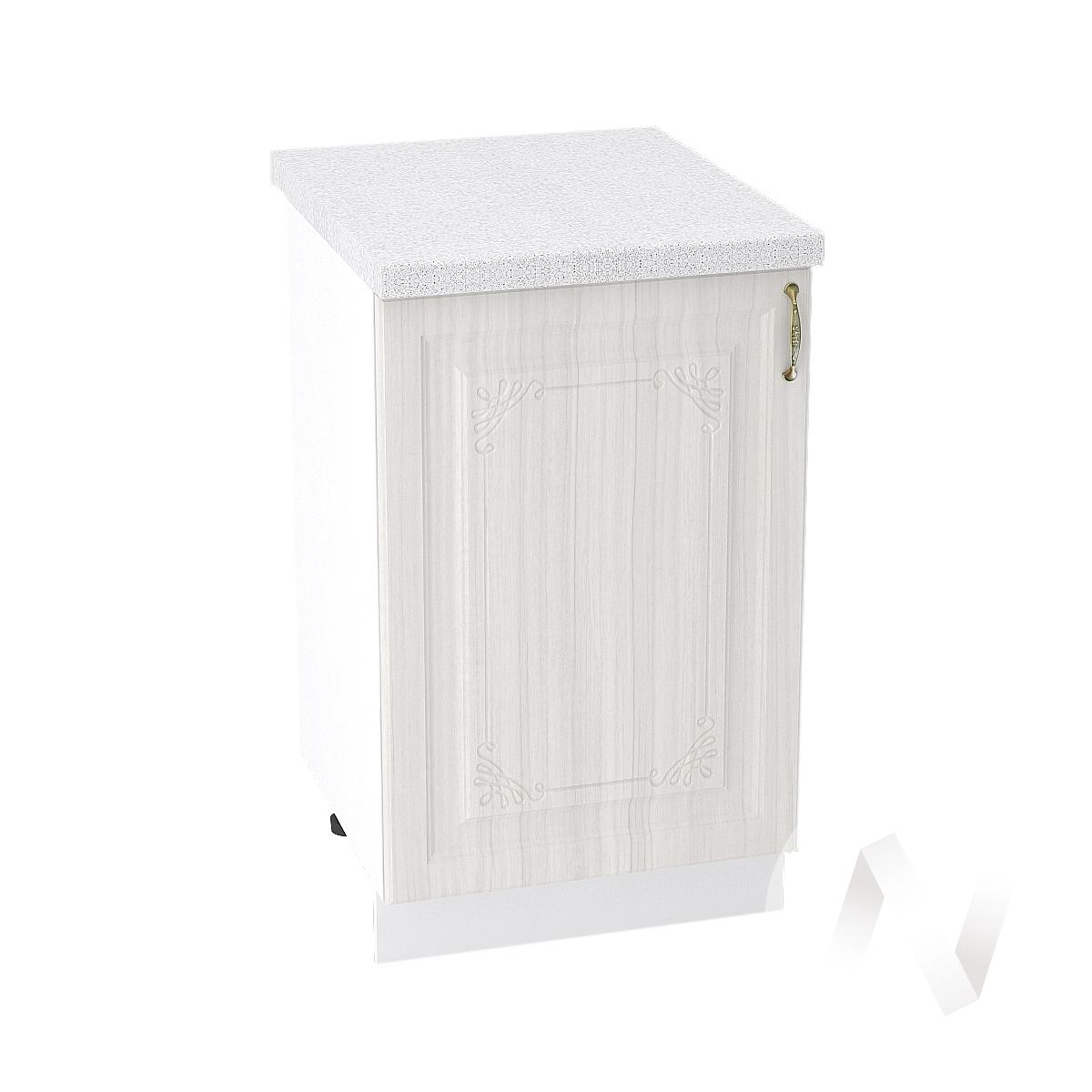 "Кухня ""Виктория"": Шкаф нижний 500, ШН 500 (корпус белый)"