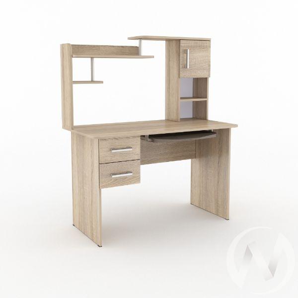 Компьютерный стол КС 1200 тип 2 (дуб сонома)