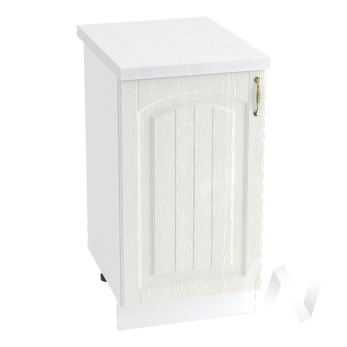 """Кухня """"Верона"""": Шкаф нижний 450 левый, ШН 450 (ясень золотистый/корпус белый)"""